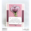 DANIELLE DONALDSON TUMBLEBLOSSOMS COLLECTION BLOSSOM #8 RUBBER STAMP