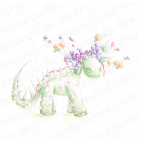 DANIELLE DONALDSON TUMBLEBLOSSOMS COLLECTION DINOSAUR