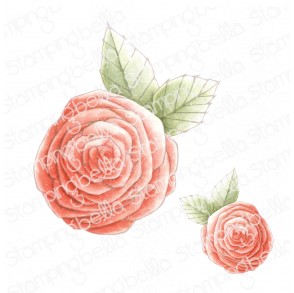 DANIELLE DONALDSON TUMBLEBLOSSOMS COLLECTION BLOSSOM #3 RUBBER STAMP