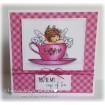 Edna's Cup of TEA (includes 2 stamps)