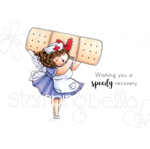 EDNA to the RESCUE rubber stamp