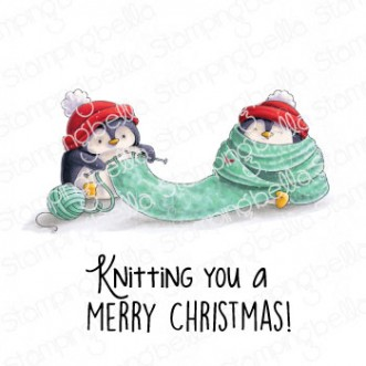 KNITTING PENGUIN