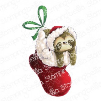 SLOTH IN A STOCKING