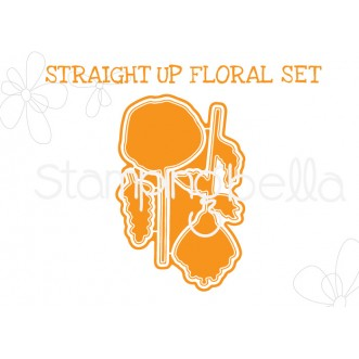 "STRAIGHT UP FLORAL SET ""CUT IT OUT"" DIES"