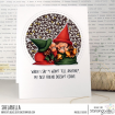 GNOMES WITH A SECRET RUBBER STAMP WITH SENTIMENT