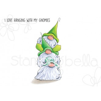 GNOME PILE rubber stamp