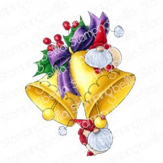 JINGLE GNOMES rubber stamp