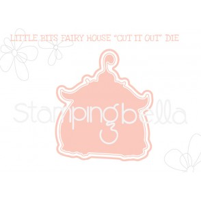 "LITTLE BITS FAIRY HOUSE ""CUT IT OUT"" DIE"