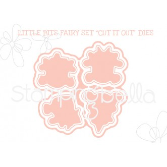 """LITTLE BITS FAIRY SET """"CUT IT OUT"""" DIES"""