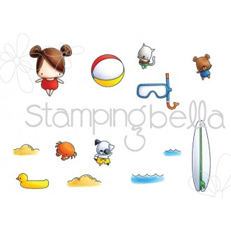 LITTLE BITS SNORKEL SET (set of 13 CLING MOUNTED RUBBER STAMPS)
