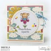 LITTLE BITS FAIRY SET RUBBER STAMPS