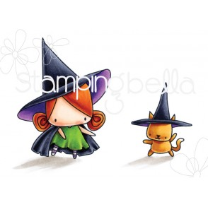 LITTLE BITS LITTLE WITCHIES rubber stamps