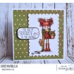 APPLE CIDER ODDBALL RUBBER STAMP