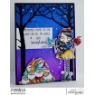 ODDBALL SNOW WHITE AND THE SEVEN DWARVES RUBBER STAMPS