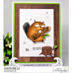 "ODDBALL BEAVER RUBBER STAMP + ""CUT IT OUT"" DIE BUNDLE (SAVE 15%)"