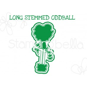 "LONG STEMMED ODDBALL ""CUT IT OUT"" DIE"