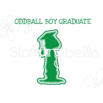 "ODDBALL BOY GRADUATE ""CUT IT OUT"" DIE"