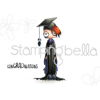 ODDBALL BOY GRADUATE RUBBER STAMP