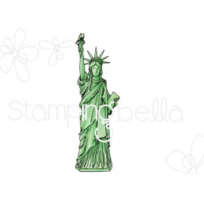 Rosie and Bernie's STATUE OF LIBERTY rubber stamp
