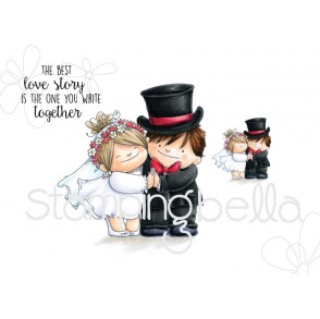 LOVE STORY SQUIDGIES RUBBER STAMPS (set of 3 rubber stamps)