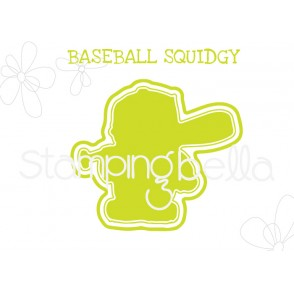 "BASEBALL SQUIDGY ""CUT IT OUT"" DIE"