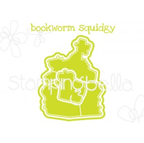"BOOKWORM SQUIDGY ""CUT IT OUT"" DIE"