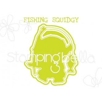 """FISHING SQUIDGY """"CUT IT OUT"""" DIE"""
