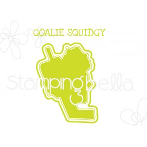 "GOALIE SQUIDGY ""CUT IT OUT"" DIE"