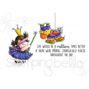 Pinata Squidgy RUBBER STAMPS (set of 3 stamps)