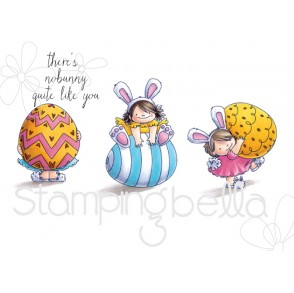 squidgy EASTER TRIO RUBBER STAMPS (set of 4 rubber stamps)