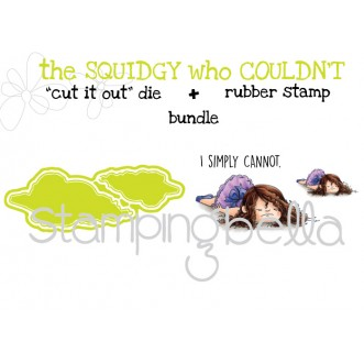 """the SQUIDGY who COULDN'T RUBBER STAMP + """"CUT IT OUT"""" BUNDLE (save 15%)"""