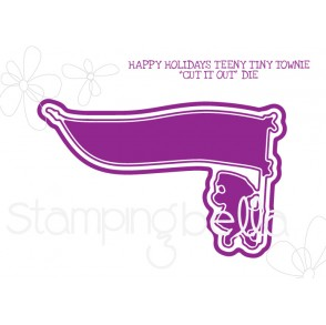 "HAPPY HOLIDAYS TEENY TINY TOWNIE ""CUT IT OUT"" DIE"