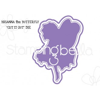 "tiny townie butterfly girl BRIANNA ""CUT IT OUT"" DIE"