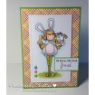 tiny townie ELLA loves EASTER RUBBER STAMPS (set of 2 rubber stamps)
