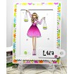 "UPTOWN ZODIAC GIRLS ""I WANT IT ALL"" RUBBER STAMPS"