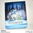 YETI with a star on TOP RUBBER STAMP