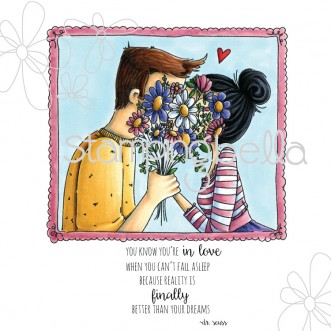 "closeups ""IN LOVE"" (includes sentiment)"