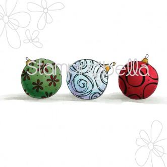 Cutesy Ornaments DIGITAL IMAGE