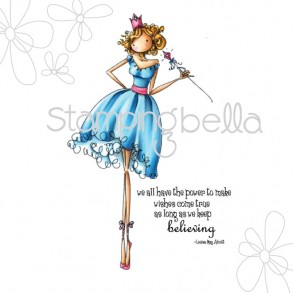 uptown girl FAITH the FAIRY (includes sentiment)