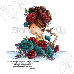 uptown girl FIONA loves FLOWERS (including sentiment)