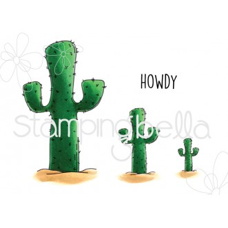 squidgy CACTUS Rubber Stamps (set of 4 stamps)
