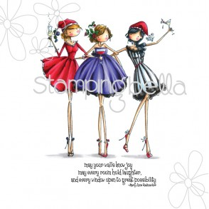 uptown girls THE THREE AMIGAS