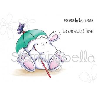 shower BUNNY WOBBLE (includes 2 sentiments)